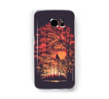 Burning In The Skies Samsung Galaxy Case/Skin