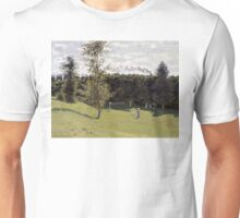 Train in the Countryside - Claude Monet - 1870 Unisex T-Shirt