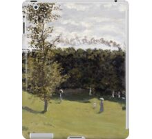 Train in the Countryside - Claude Monet - 1870 iPad Case/Skin
