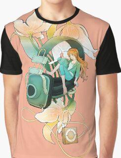 Thumbelina - Peach Graphic T-Shirt