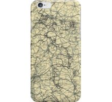 World War II Twelfth Army Group Situation Map April 8 1945 iPhone Case/Skin