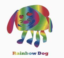 Rainbow Dog by RobynHood