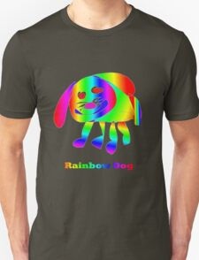 Rainbow Dog Unisex T-Shirt