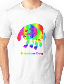 Rainbow Dog Unisex T-Shirt