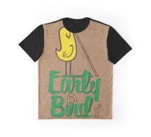 Early Bird Graphic T-Shirt