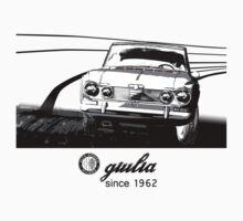 Alfa Romeo Giulia 50th Anniversary (LHD) Kids Tee