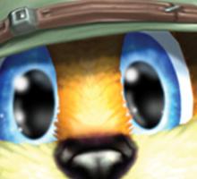 Conker The Squirrel Sticker