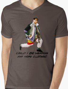 Could I BE wearing any more clothes? Mens V-Neck T-Shirt