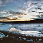 North Saskatchewan River, January 2012 by James Birkbeck
