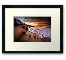 And Then it Dawned on Me Framed Print