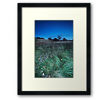 The Rough With The Smooth Framed Print