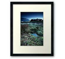 Crossing Point Framed Print