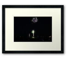 New Years 2012 - Brighton Beach #1 Framed Print