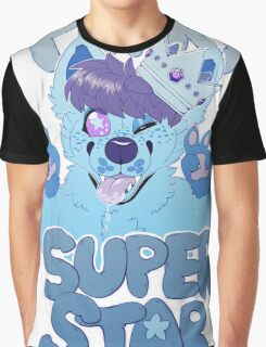 FURRY SUPERSTAR - color Graphic T-Shirt