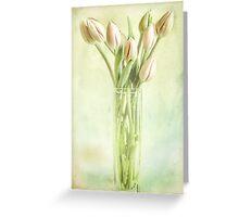 Watercolour Tulips Greeting Card