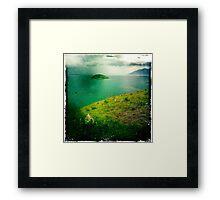 archer point  Framed Print