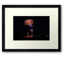 New Years 2012 - Brighton Beach #3 Framed Print