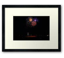 New Years 2012 - Brighton Beach #5 Framed Print
