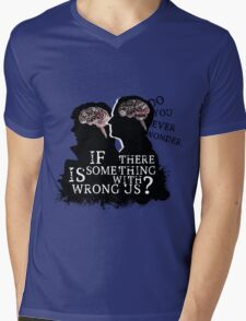Do You Ever Wonder? Mens V-Neck T-Shirt