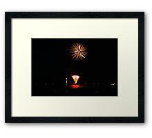 New Years 2012 - Brighton Beach #6 Framed Print