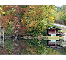 Beavers Bend Fly Shop Photographic Print