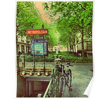Metro in Paris Poster