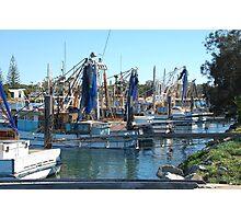 Fishing boats at Yamba Photographic Print