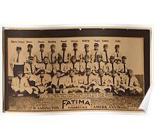 Benjamin K Edwards Collection Washington Nationals baseball card portrait Poster