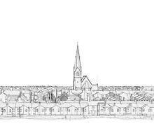 Barrow Skyline by Colin Bentham