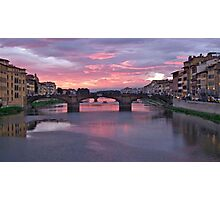 Magic On The Arno Photographic Print