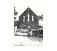 St Patricks Church Art Print