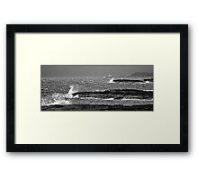 Overture of the Storm - Port Langamull, Isle of Mull, Scotland Framed Print