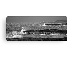 Overture of the Storm - Port Langamull, Isle of Mull, Scotland Canvas Print