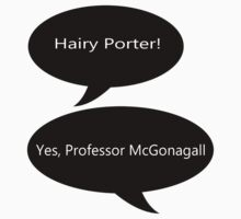 Professor McGonagall Hairy Porter by eggnog