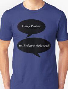 Professor McGonagall Hairy Porter T-Shirt