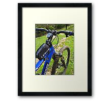 Off the Track Framed Print
