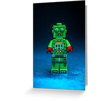 Robbie the Robot Greeting Card