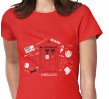 Three Fandoms Tee Womens Fitted T-Shirt