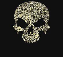 Halloween Swirly Skull Unisex T-Shirt