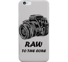 Sony raw to the core iPhone Case/Skin