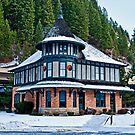 The Northern Pacific Station, Wallace Idaho, USA by Bryan D. Spellman
