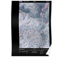 USGS Topo Map Washington State WA Loomis 20110503 TM Inverted Poster