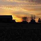 Sundown at the Farm by hubcap