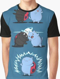 Fusion of a cat and a bug Graphic T-Shirt