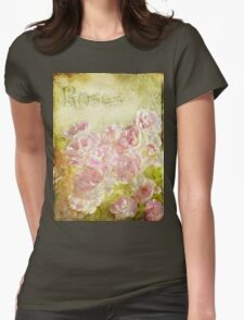 Rose Garden Womens Fitted T-Shirt
