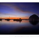 Morro Rock  •  Sunset  •  Twenty Twelve by Richard  Leon