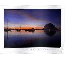 Morro Rock  •  Sunset  •  Twenty Twelve Poster