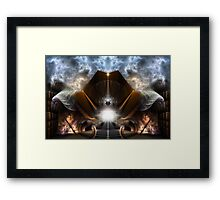 The Path Of Light Framed Print