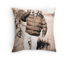 Mark Throw Pillow