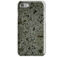 Grunge cover iPhone Case/Skin